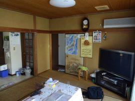 6畳と8畳がつながっていた和室。