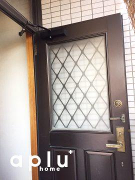 建付を調整し、ドアの開閉、鍵の開け閉めをスムーズにしました