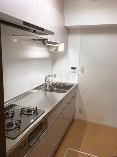 料理やお手入れがしやすい新しいシステムキッチンに交換しました。