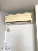 今までは個々の部屋ごとに小型エアコンが設置されていました。