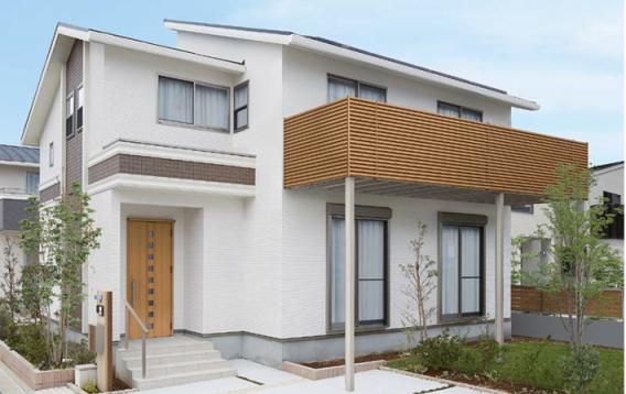 ビューステージHスタイル<br /> 重厚で安心感のある構造、デザイン性と優れた機能性<br /> リフォームはもちろん新築でも広いバルコニー空間を提案できる商品です。