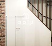 【ドア】オープンなスペースを新規扉の設置で素敵な収納スペースへ【Panasonic】
