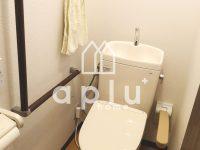 【介護保険 住宅改修】トイレの段差解消・手摺り取付・引き戸への変更【トイレ】